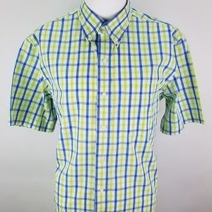 Men's Izod Saltwater Short Sleeve Shirt Size M